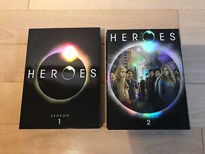 HEROES - Seasons 1 & 2 on DVD