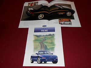 1997 FORD PROBE BROCHURE, SALES CATALOG: GT, GTS, Etc.