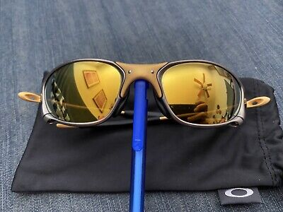 OAKLEY Oakley XX X-METAL 24K Sunglasses Pre Owned non Serialized Gen-4