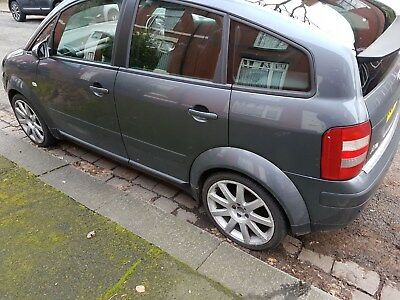 AUDI A2 14 TDI diesel 52 2002 breaking all parts available dolphin grey KX52V