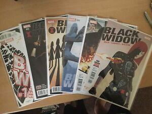 Black Widow #1-6 1st Volume