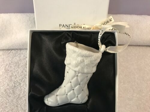 Christmas ornament Pandora Stocking 2012 in box EX4534