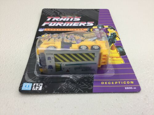 1991 Hasbro Transformers Constructicons G2 European UK Recolor Mixmaster MOC - $49.00
