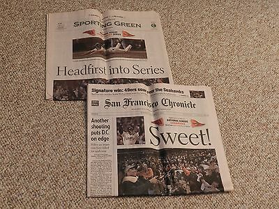 "San Francisco Chronicle ""SWEET!"" October 15, 2002 Section A and Section C only"