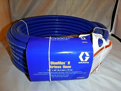 Graco Bluemax Ii Airless Hose 14 X 50 277241 Rated 3300 Psi