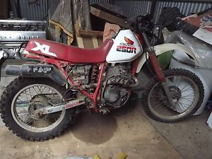 Honda XL250R On Road/Off Road Red Lion Central Goldfields Preview