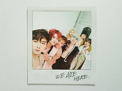 "K-POP MONSTA X Mini Album ""ARE YOU THERE?"" Official MONSTA X Photocard"