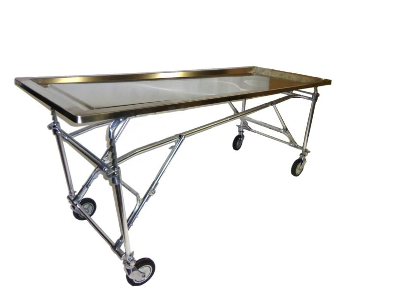Embalming Dressing Table Mortuary Funeral Home Burial Chapel Supplies Casket Cot