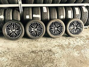A set of beautiful Alloy wheels 15 inch and 195/65/15 Tyres Summer Hill Ashfield Area Preview