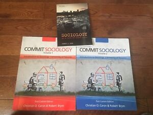 Commit Sociology UofT textbook package 1st custom edition