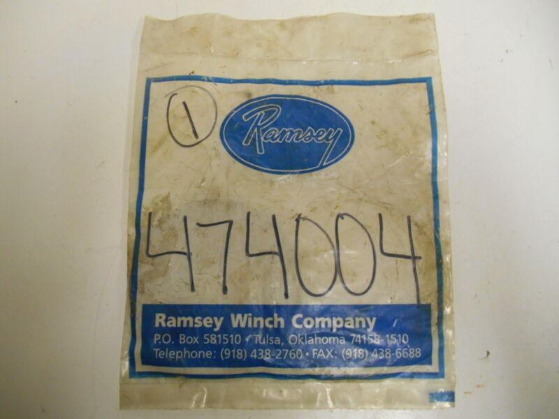 Nib Ramsey 474004 Plate-thrust,wm Brk,scan-pac #rf-53