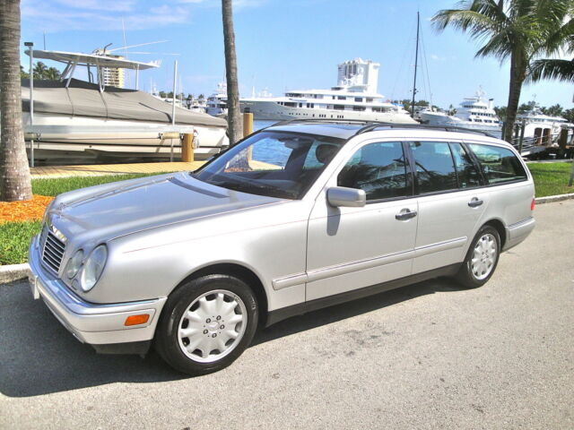 99 mercedes e320 wagon dlr srvcd stamped up to 94k x nice