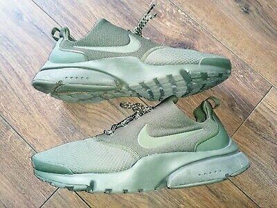 Mens NIKE PRESTO FLY SE Medium Olive Trainers 908020 201 in Size 10 UK