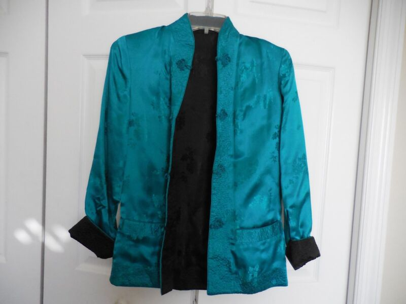 Reversible Size Sm Ladies Jade Green/Black Jacket