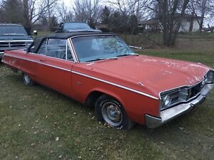 Parting out 1967 Monaco convertible