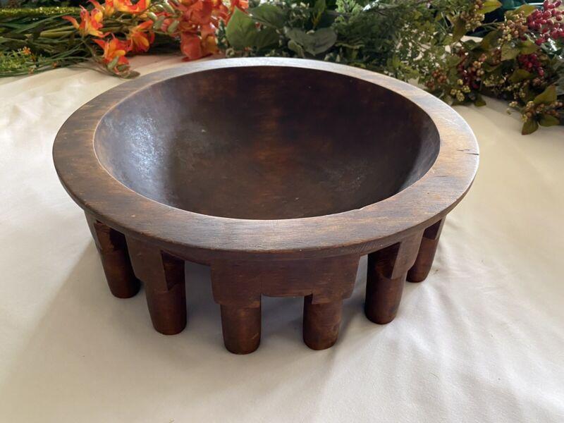 Vintage Large Kava Bowl Samoan
