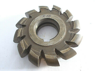 Halbkreisfräser ,  Halbkreisformfräser , Radiusfräser konvex  R10 x 100 mm