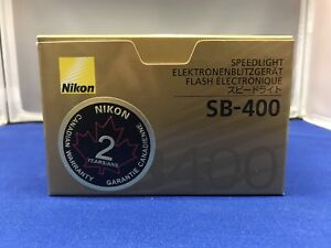 BNIB Nikon SB-400 Speed Light