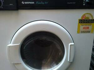 Simpson EZI 350 3.5 kg dryer in excellent working condition. Lane Cove West Lane Cove Area Preview
