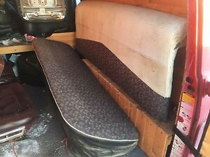 1957 Plymouth 4 door sedan back seat
