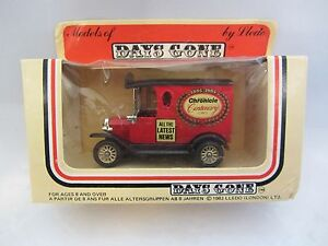 LLEDO   Days-Gone  Ford Model ' T ' Van  Red  #6041  Chronicle   NIB  (1)