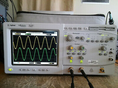 Hp Agilent Keysight 54820a 500mhz 2gsas Oscilloscope With Usb -015 -100 Tested