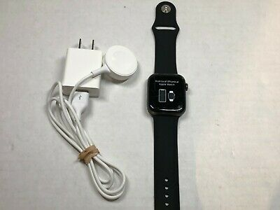 Apple Watch Series 4 44mm Space Gray Aluminum Ceramic Case LTE Cellular GPS