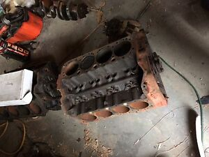 Chevy engine blocks and parts