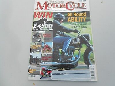 THE CLASSIC MOTORCYCLE MAGAZINE - MAY 2004