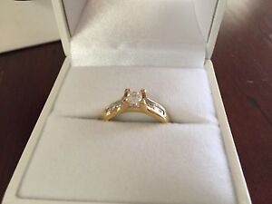 0.75ct Gold Diamond Engagement Ring Muswellbrook Muswellbrook Area Preview