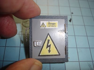 1/18 SCALE - Inside electrical Breaker BOX for YOUR SHOP/GARAGE/DIORAMA for sale  Kansas City