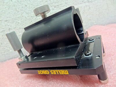 Melles Griot Optics Rod Holder Carrier Z Tilt Stage Assy. Optical Laboratory