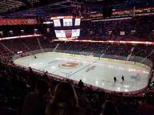 Flames Tickets - All Games - Section 215 Row 18 Two Seats