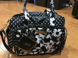 ju-ju-be prepared diaper bag in Heiress print