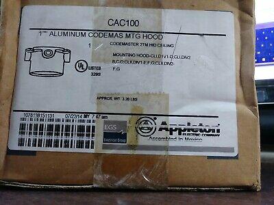 Egs Appleton Lighting Ceiling Box Assembly Codemaster 50 - 400 Watt New In Box