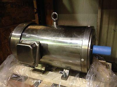Ac Motor - Stainless Steel Premium Electric Motor - 3450rpm 15hp 254tc 230460v