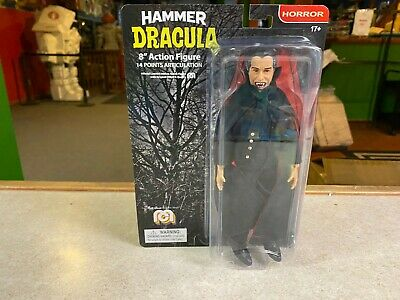 """2020 Mego Universal Monsters Horror HAMMER DRACULA 8"""" Inch Action Figure MOC"""