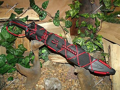 Machete/Sword/Knife/Harpoon/Carbon steel/Full tang/Zombie/Paracord survival kit