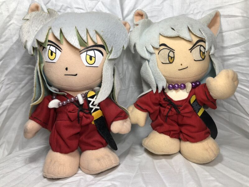 Inuyasha Plushes Used ANIME PLUSH
