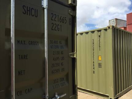 Shipping Containers 20' Used once to Coffs Harbour  $4290 inc GST