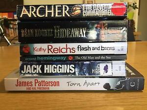 Assorted Fiction Books x 6 Southern River Gosnells Area Preview