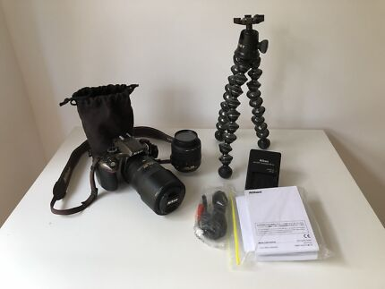 Wanted: Nikon D5200 with lenses and Joby Gorillapod