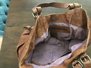 kooba leather Shoulder handbag Tan Bag