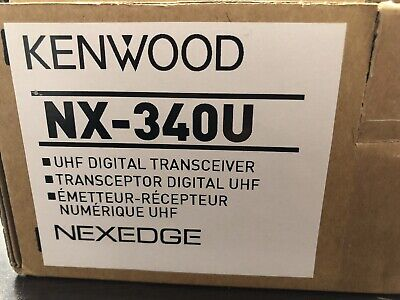 Kenwood Nx-340u Uhf Digital Transceiver. Nexedge Professional Business Radio