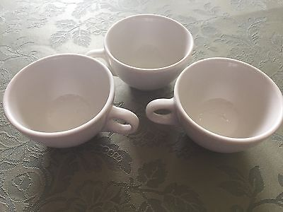 Lot of 3 Vintage Restaurant Ware Coffee Cups~Lamberton Sterling China~USA Made