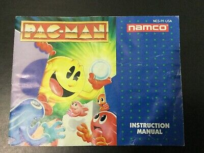 Pac-Man Namco NES Nintendo Instruction Manual Only