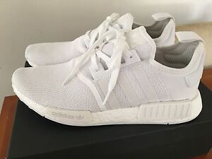 Adidas NMD R1 Triple White Mono Red Hill Brisbane North West Preview