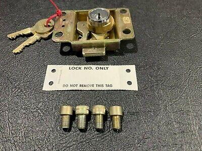 Medeco Western Electric Type Upper Housing Vault Payphone Lock 2 Keys Tag