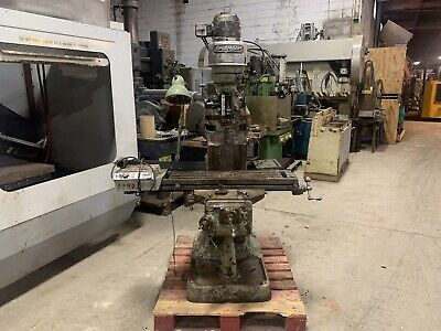 Bridgeport Milling Machine 9 X 36 Table Toolingpower Feed J Head