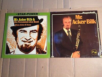 MR. ACKER BILK PARAMOUNT JAZZ BAND - WHITE CLIFFS OF DOVER + STARPORTRAIT - 3 LP
